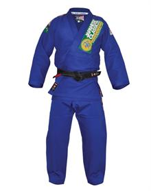 Isami Sachiko Blue BJJ Gi With Patches